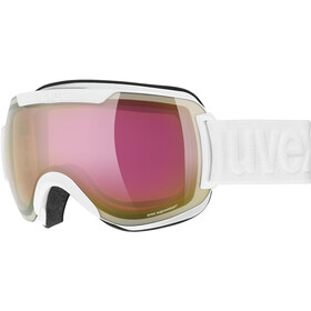 UVEX Downhill 2000 FM Beskyttelsesbriller, white/mirror pink